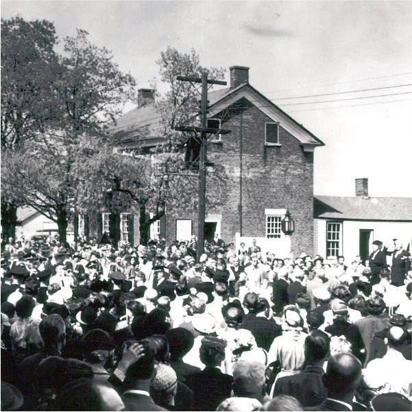 Museum opening in 1953
